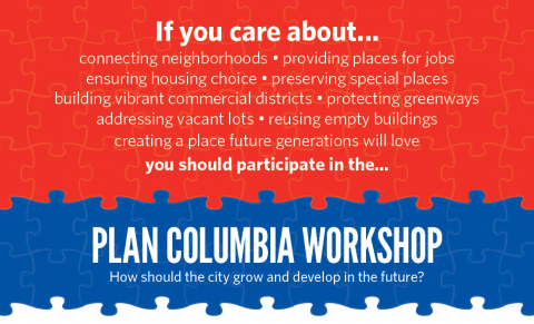 Plan Columbia Workshop - Do you care about...