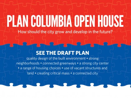 Attend the Plan Columbia Open House