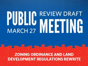 Public Review Draft Open House, March 27, 2018