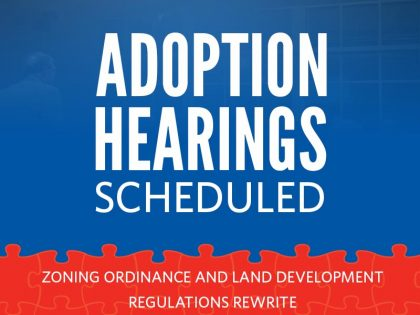 Public Hearing Schedule