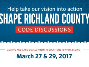 Attend a Shape Richland County Code Discussion