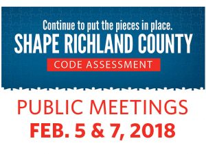 Code Assessment Public Meeting (JAN 2018)